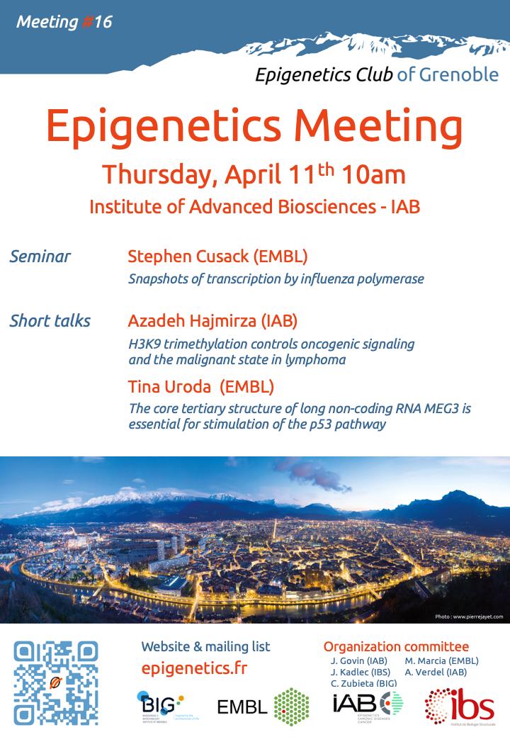 Epigenetics meeting 2019